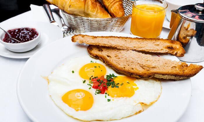 2 מסעדת תרזה ירושלים: ארוחת בוקר זוגית
