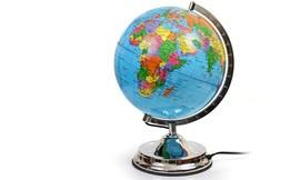 גלובוס עם מפת עולם
