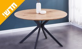 שולחן פינת אוכל עגול