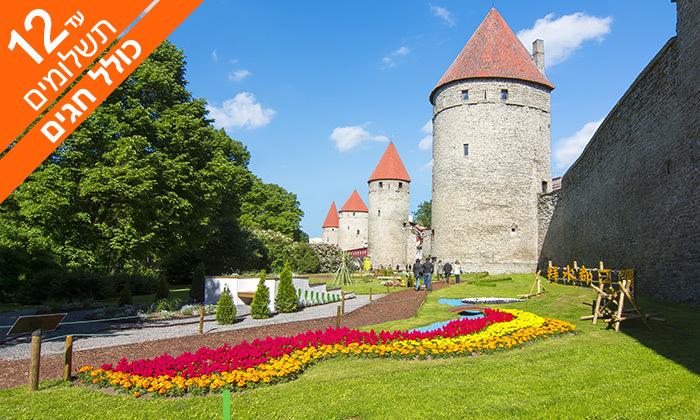 4 טיול מאורגן דרך הענבר של המדינות הבלטיות - קיץ וחגים