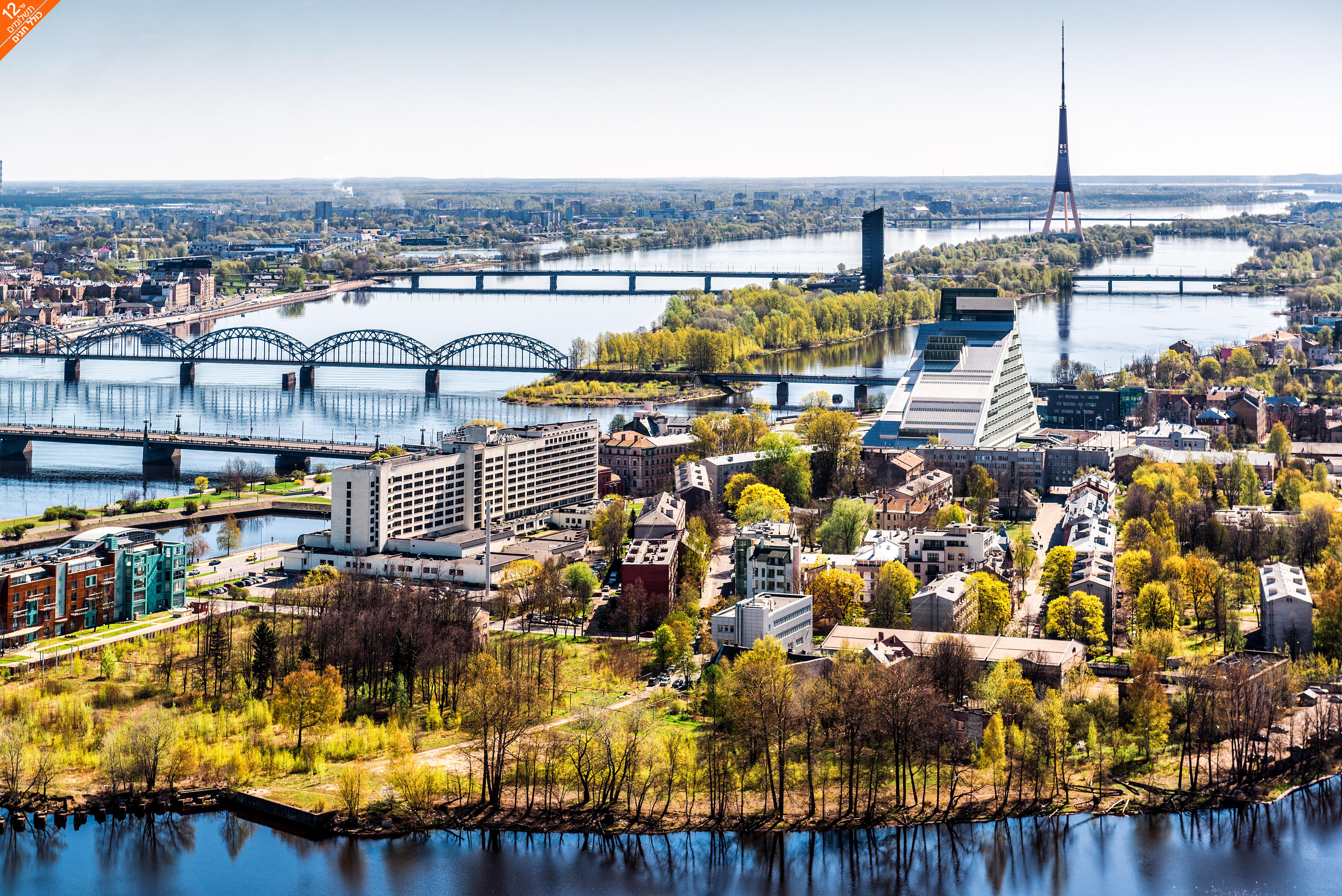 6 טיול מאורגן דרך הענבר של המדינות הבלטיות - קיץ וחגים