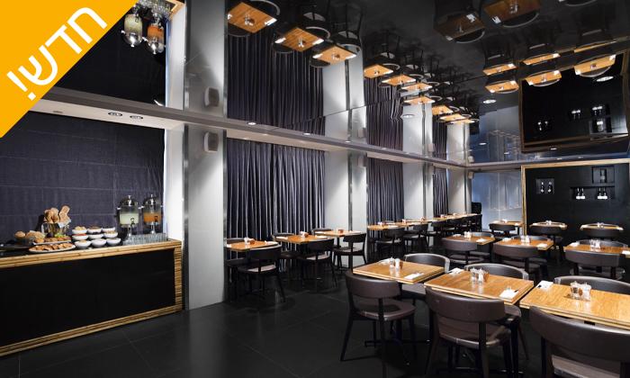 5 ארוחת בוקר בופה ב- Ciela Rooftop Lounge מלון אלכסנדר, תל אביב