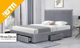 מיטה זוגית מרופדת גאיה