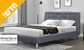 מיטה זוגית מרופדת מיקה