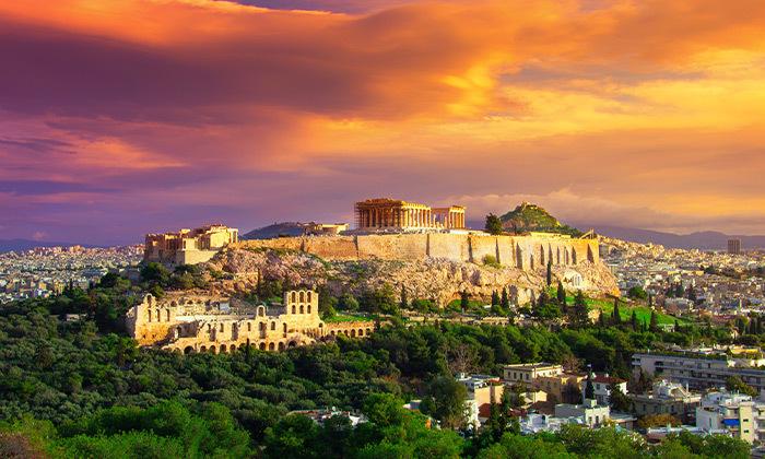 הרגע האחרון באתונה - טיסה קצרה, נופים יפים ואתרים מרתקים