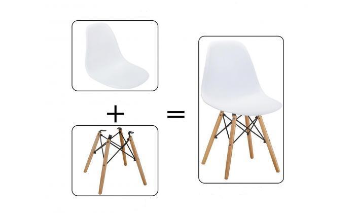 7 סט כיסאות אוכל BRADEX