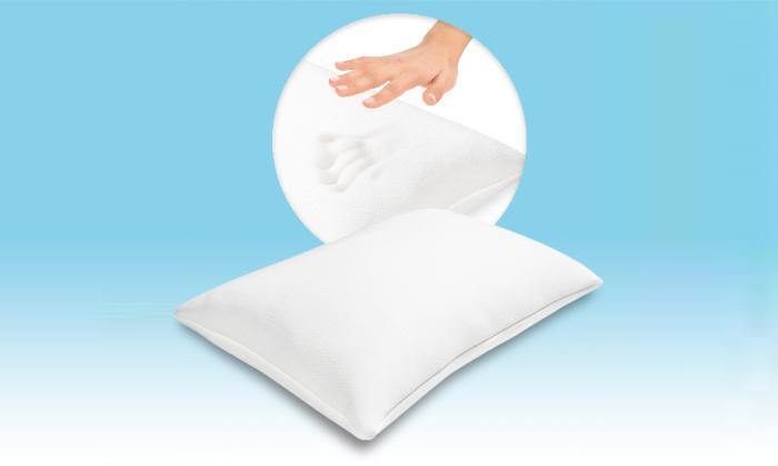 3 זוג כריות ויסקו  BRADEX MEMORY FOAM PILLOWS - משלוח חינם