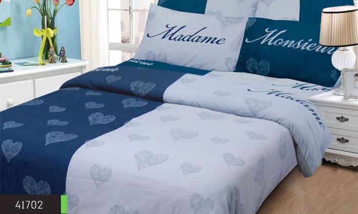 5 סט מצעים למיטה זוגית