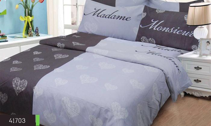 6 סט מצעים למיטה זוגית