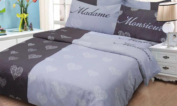 8 סט מצעים למיטה זוגית