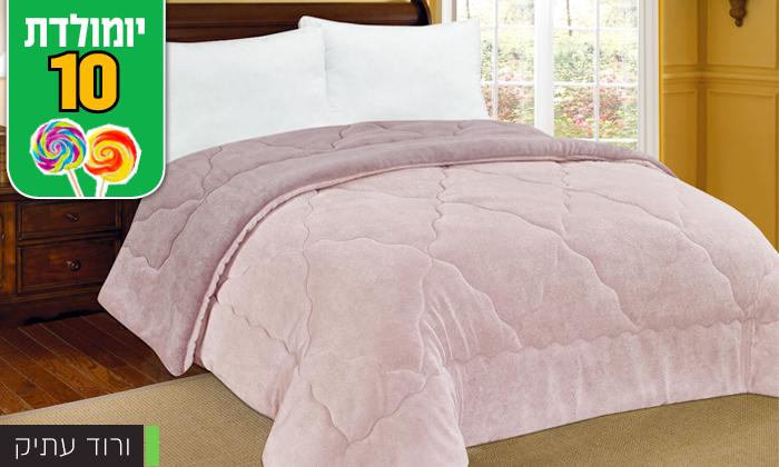 8 שמיכת חורף דו-צדדית למיטה זוגית