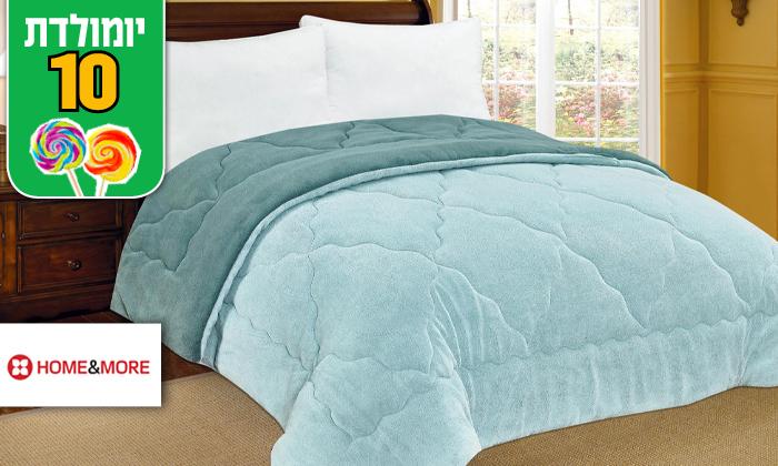 2 שמיכת חורף דו-צדדית למיטה זוגית