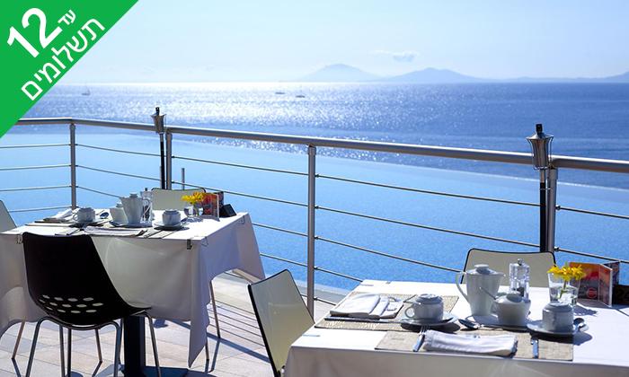 4 יוני באי היווני קוס - מלון 5 כוכבים מפנק