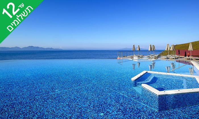 3 יוני באי היווני קוס - מלון 5 כוכבים מפנק