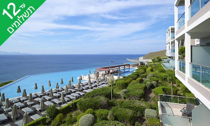 9 יוני באי היווני קוס - מלון 5 כוכבים מפנק