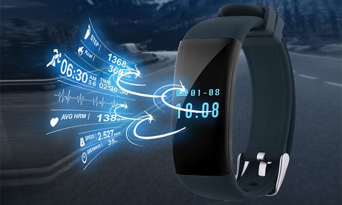 3 שעון ספורט חכם עם אופציה לאוזניות בלוטוס