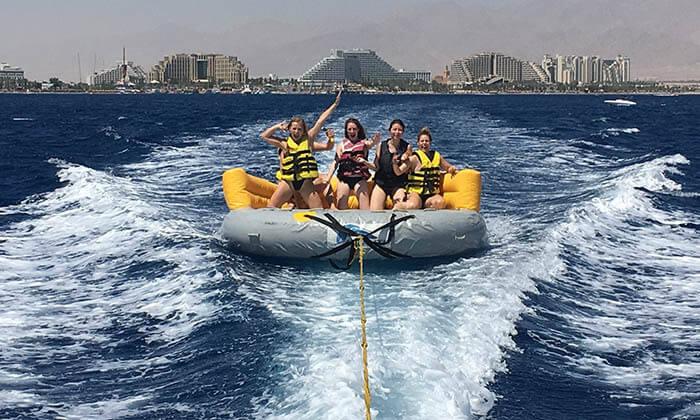 2 אטלנטיס ספורט ימי - שייט חוויתי כולל אטרקציות לבחירה