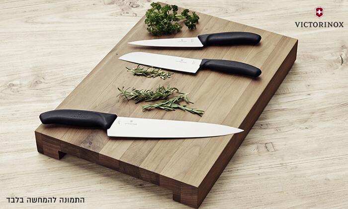 2 סכין שף ומשחיז מבית VICTORINOX