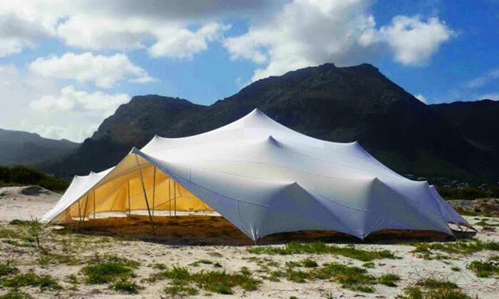 4 EventShade אוהל ענק לאירועים מבית טרנקילו
