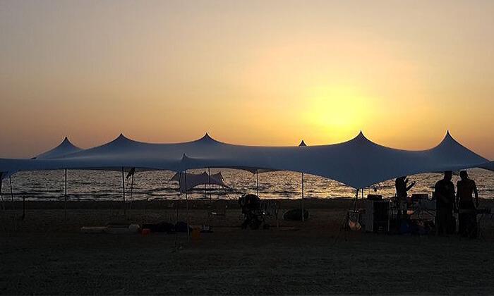 6 EventShade אוהל ענק לאירועים מבית טרנקילו