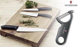 3 סכיניםוקולפן שוויצריים