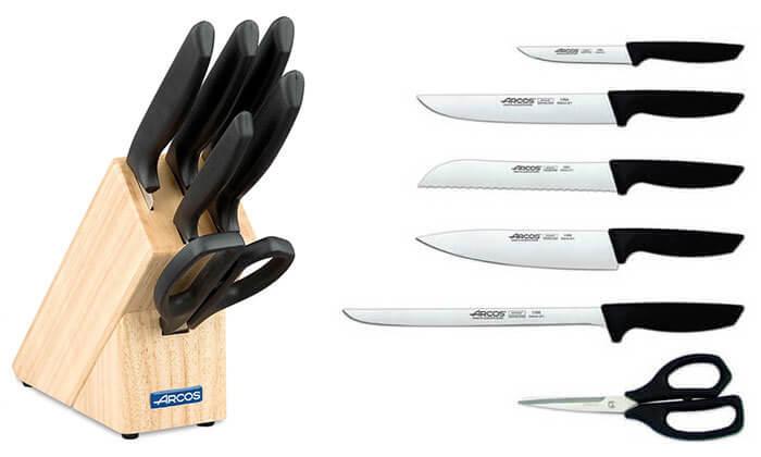3 בלוק סכיני ARCOS מסדרת NIZA