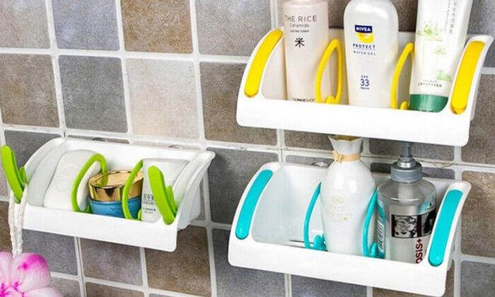 4 מדף אחסון לאמבט ולמטבח