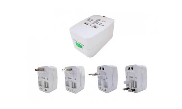 3 מתאם חשמל זוגי בינלאומי
