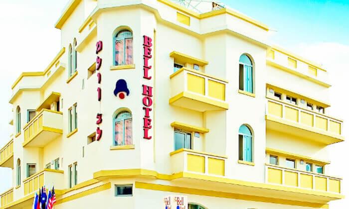 9 ספא מלון הבוטיק bell מול הים, ברחוב הירקון, תל אביב