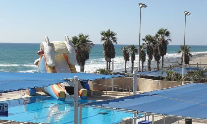 3 פארק גלי ים בחוף הדרומי של חיפה
