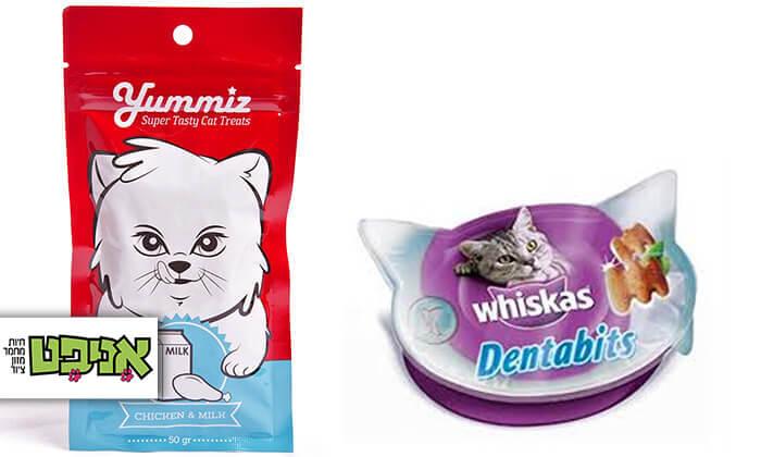 2 חבילת חטיפים לחתול