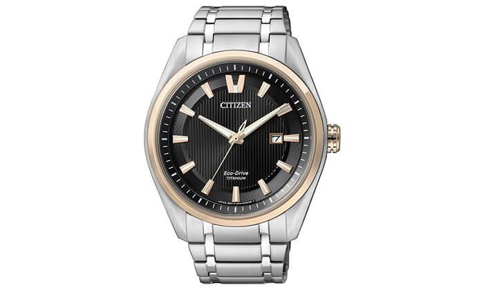 2 שעון יד לגבר מבית CITIZEN