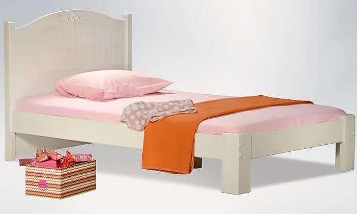 4  שמרת הזורע: מיטת ילדים ונוער רחבה