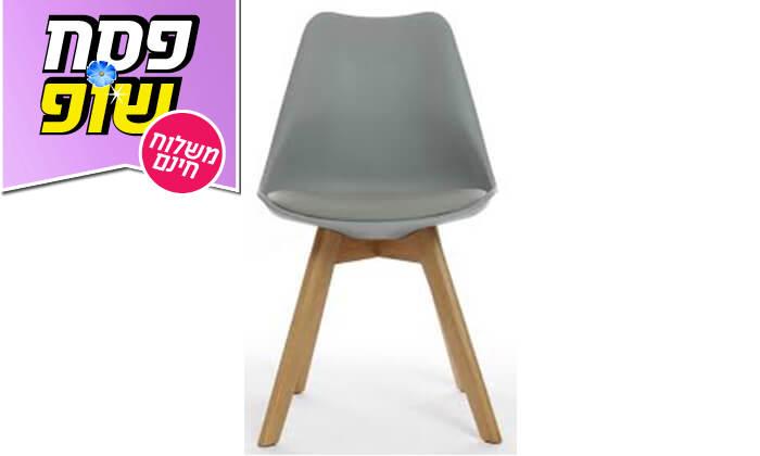 9 כיסא מעוצב דמוי עור - משלוח חינם!