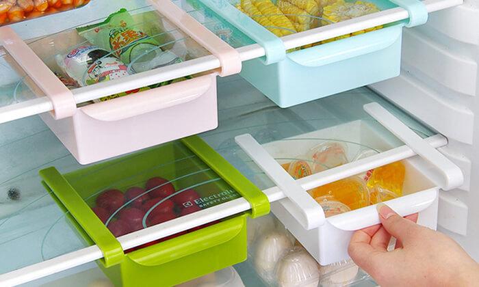 2 מגירות אחסון למקרר