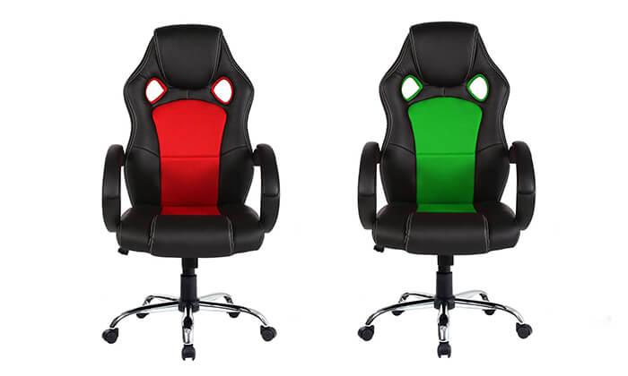 5 כיסא גיימינג אורתופדי