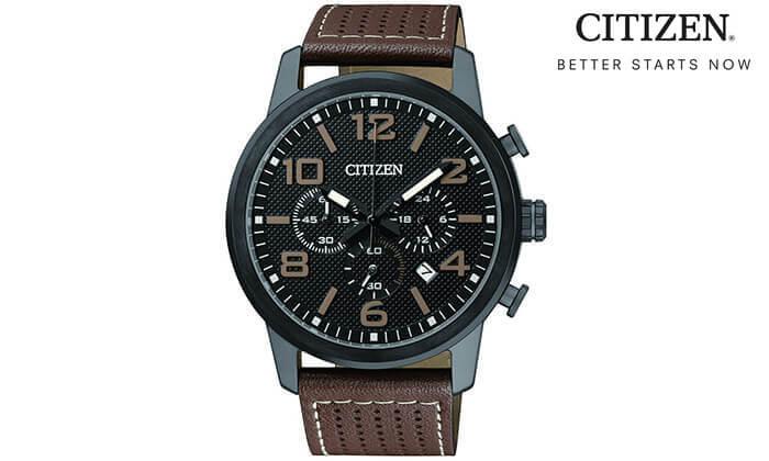 2 שעון לגבר מבית CITIZEN