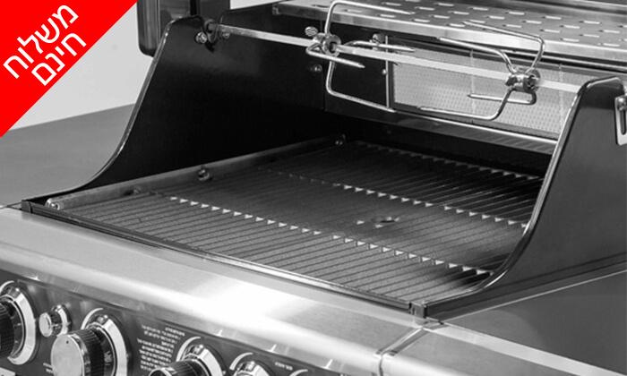 6 גריל גז בעל מבער אחורי Australia Chef - משלוח חינם!