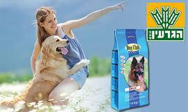 מזון Premium לכלב ברשת הגרעין