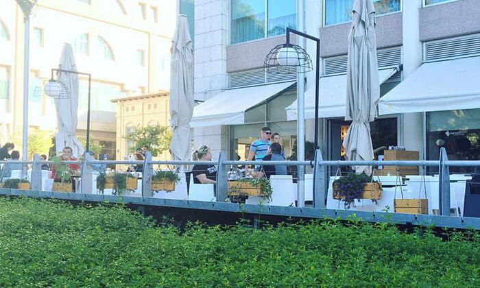 """9 ארוחה זוגית איטלקית או אמריקאית באספרסו בר ראשל""""צ"""