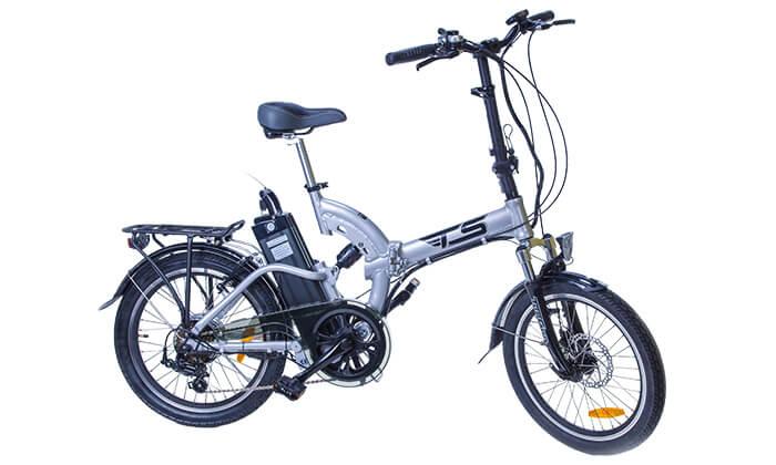 2 אופניים חשמליים מתקפלים