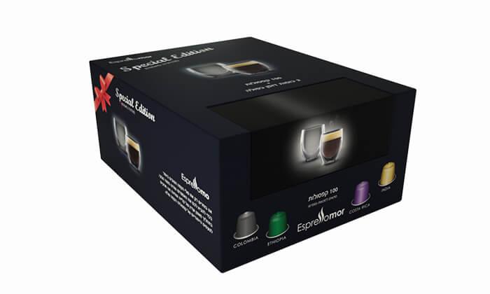 2 קפסולות קפה תואמות נספרסו Nespresso