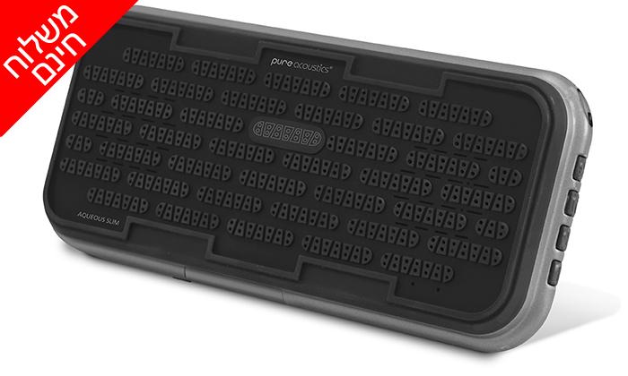 4 רמקול Bluetooth נייד - משלוח חינם!