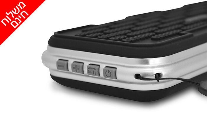 6 רמקול Bluetooth נייד - משלוח חינם!
