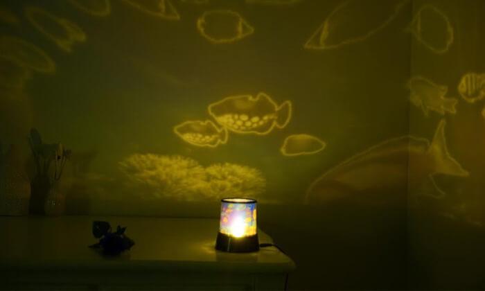 4 מנורת לד מיוחדת לחדר הילדים