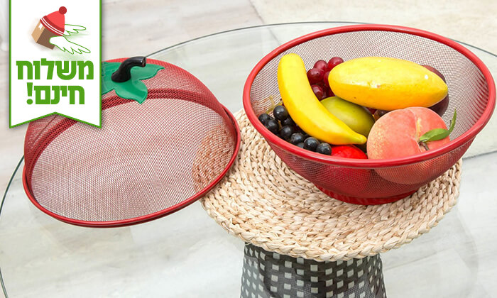 3 סלסלת פירות - משלוח חינם