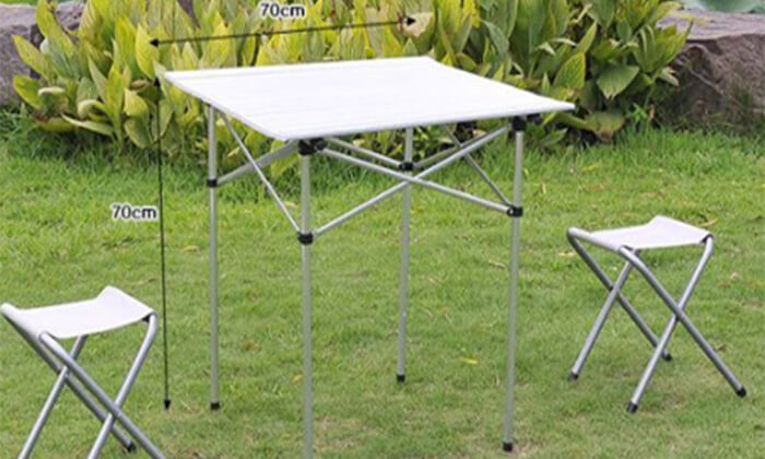 3 שולחן קמפינג מתקפל