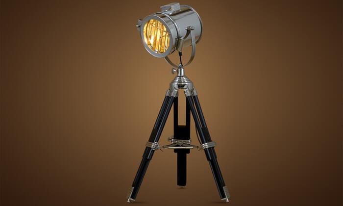 2 מנורת רטרו מעוצבת