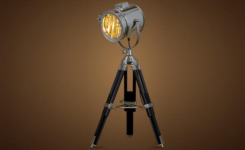מנורת רטרו מעוצבת