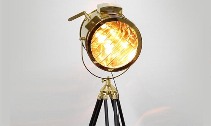 3 מנורת רטרו מעוצבת
